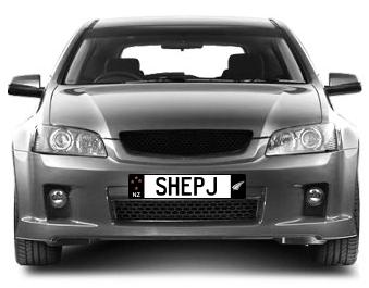 Car Plate (SHEP J)